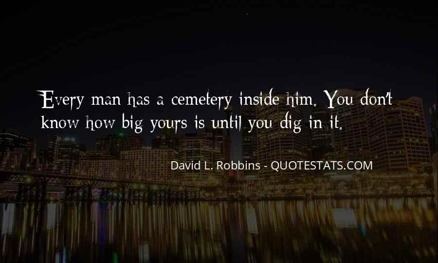 Cemetery Man Quotes #1053177