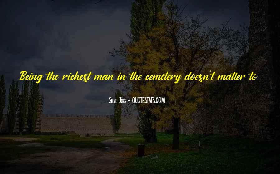 Cemetery Man Quotes #910664