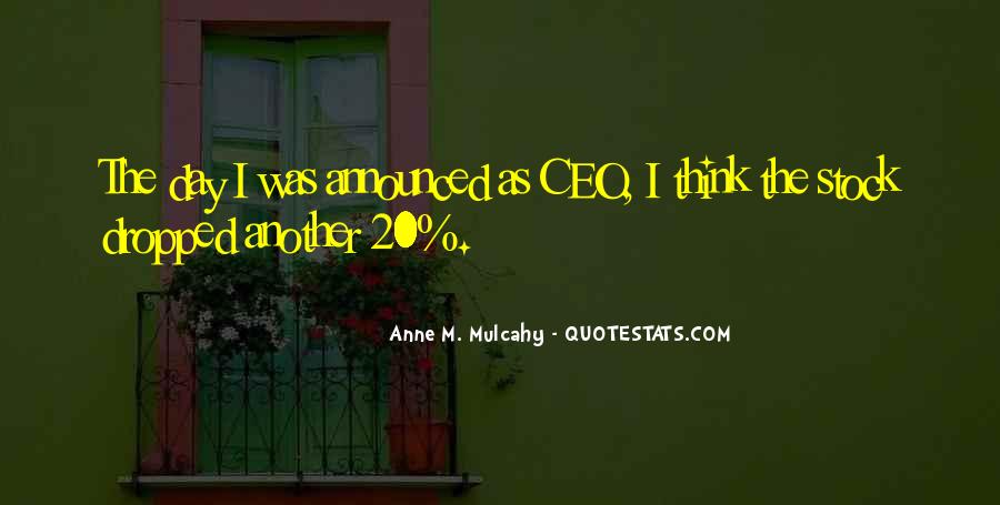 Ceo Quotes #351906