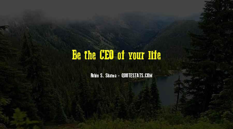 Ceo Quotes #432526