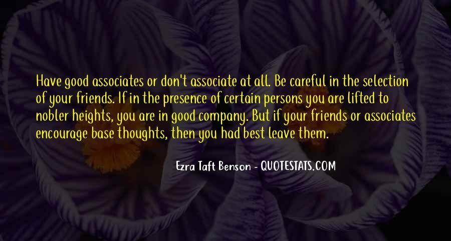 Certain Friends Quotes #1412268