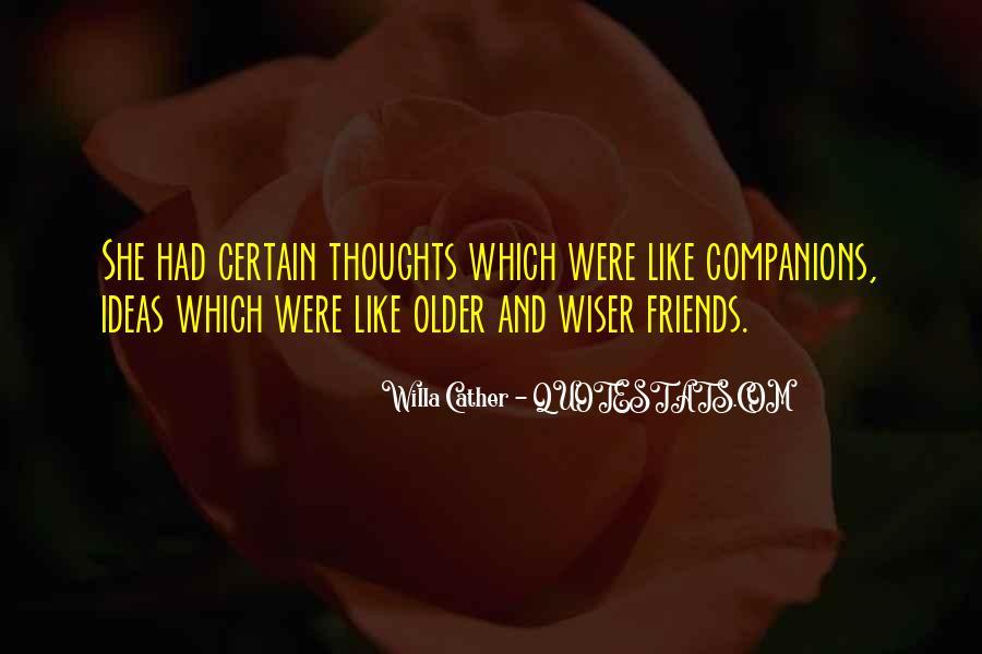 Certain Friends Quotes #596424