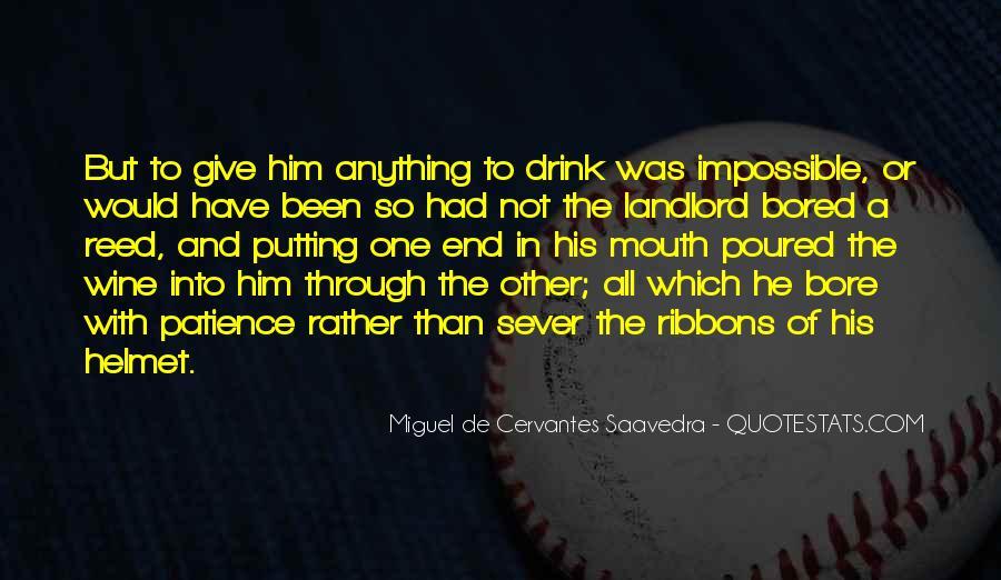 Cervantes Wine Quotes #12532