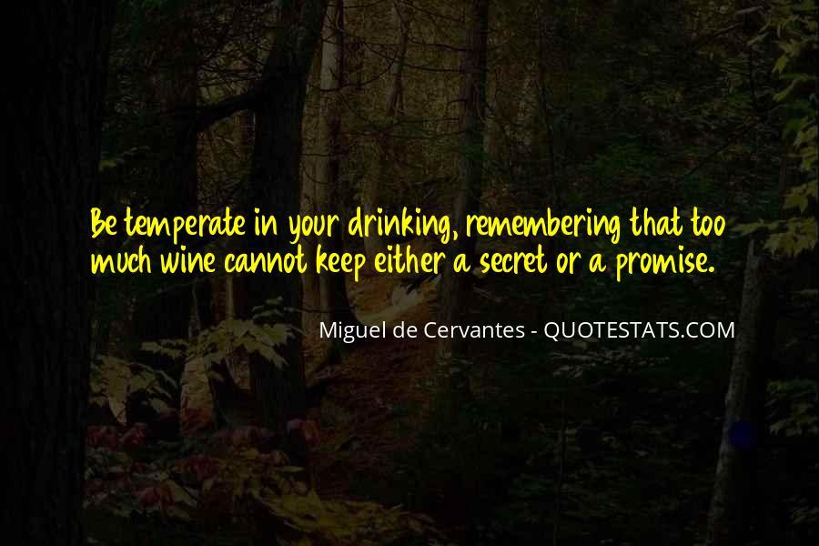 Cervantes Wine Quotes #618770