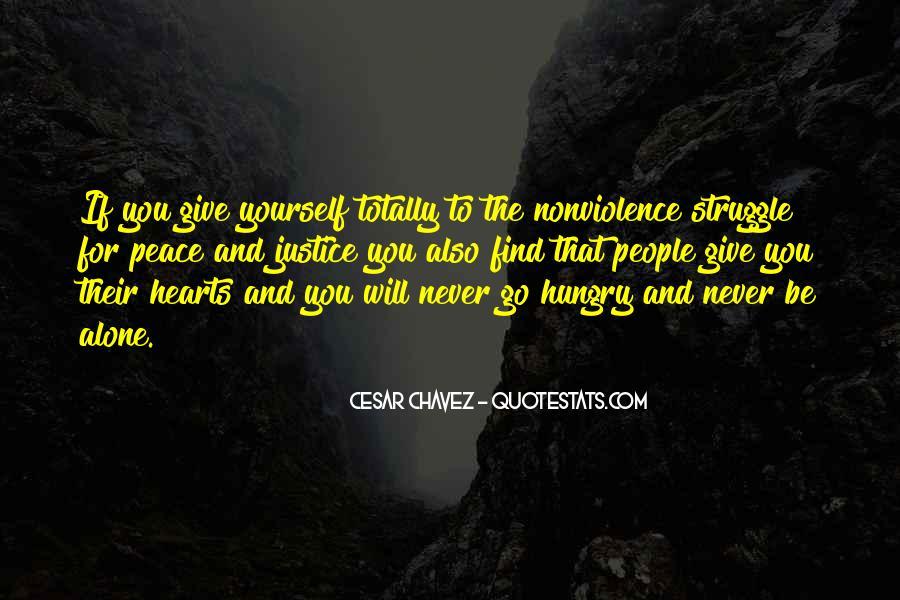 Top 14 Cesar Chavez Nonviolence Quotes: Famous Quotes ...