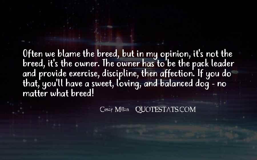 Cesar Millan Pack Leader Quotes #927535