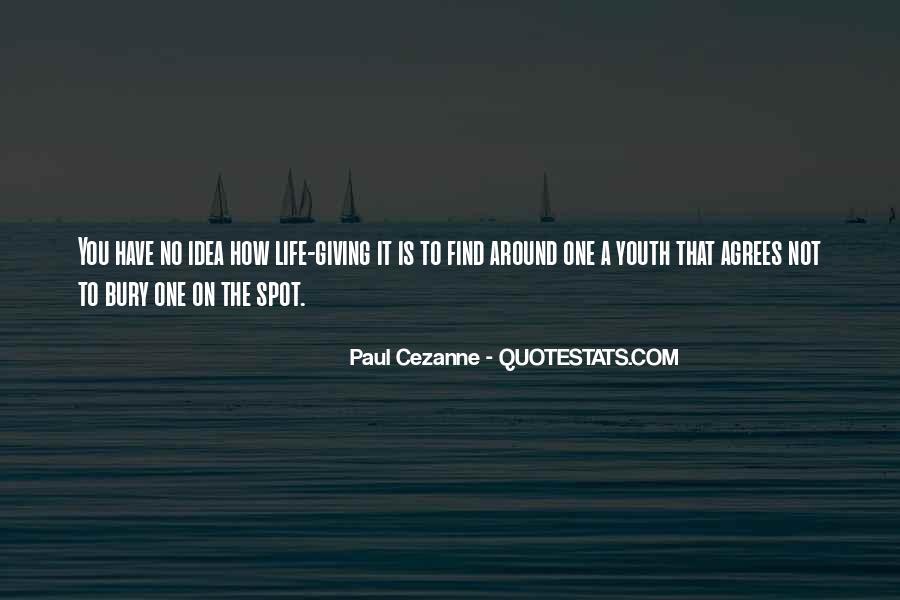 Cezanne Still Life Quotes #1861182