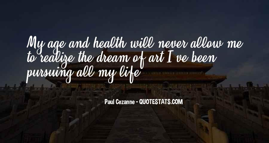 Cezanne Still Life Quotes #49554