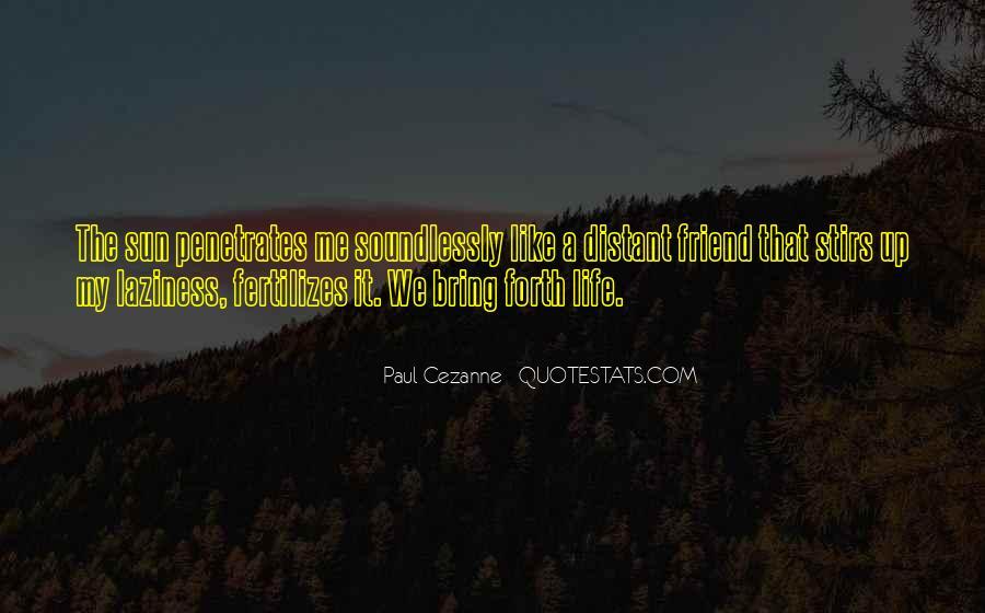 Cezanne Still Life Quotes #7833