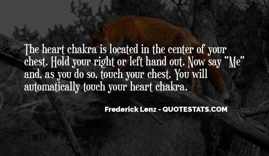 Chakra Quotes #1317227