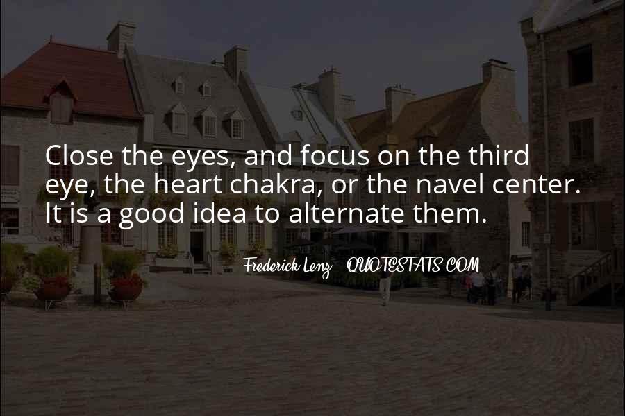 Chakra Quotes #1548683