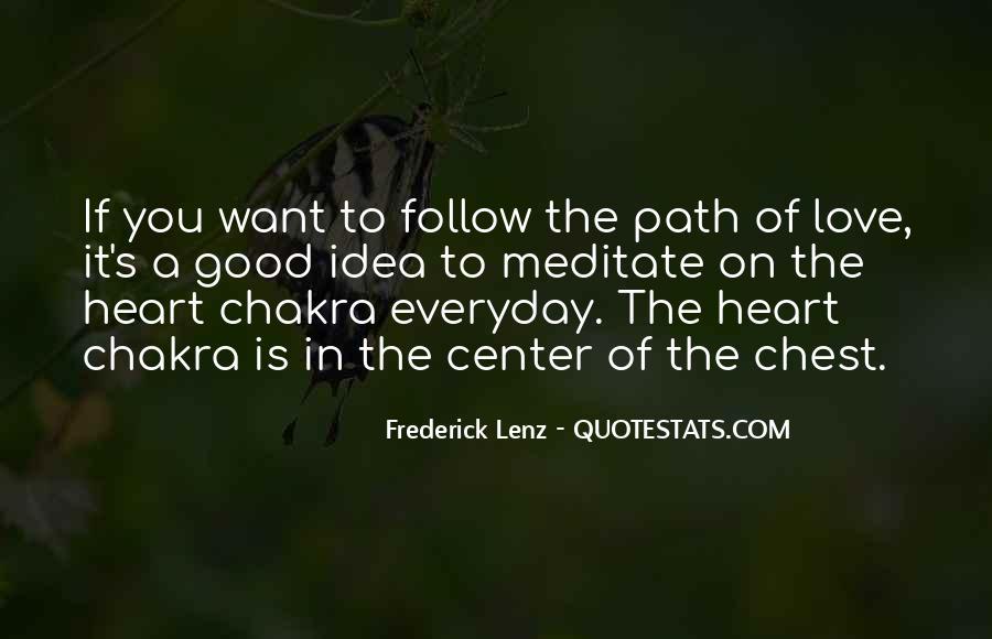 Chakra Quotes #1691395