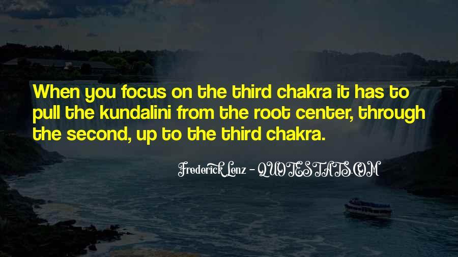 Chakra Quotes #580150