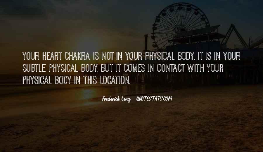 Chakra Quotes #747357
