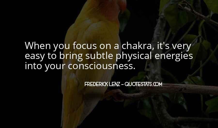 Chakra Quotes #858727