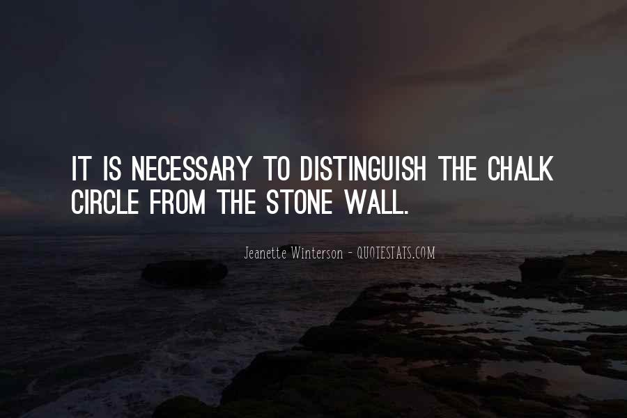 Chalk Circle Quotes #339982