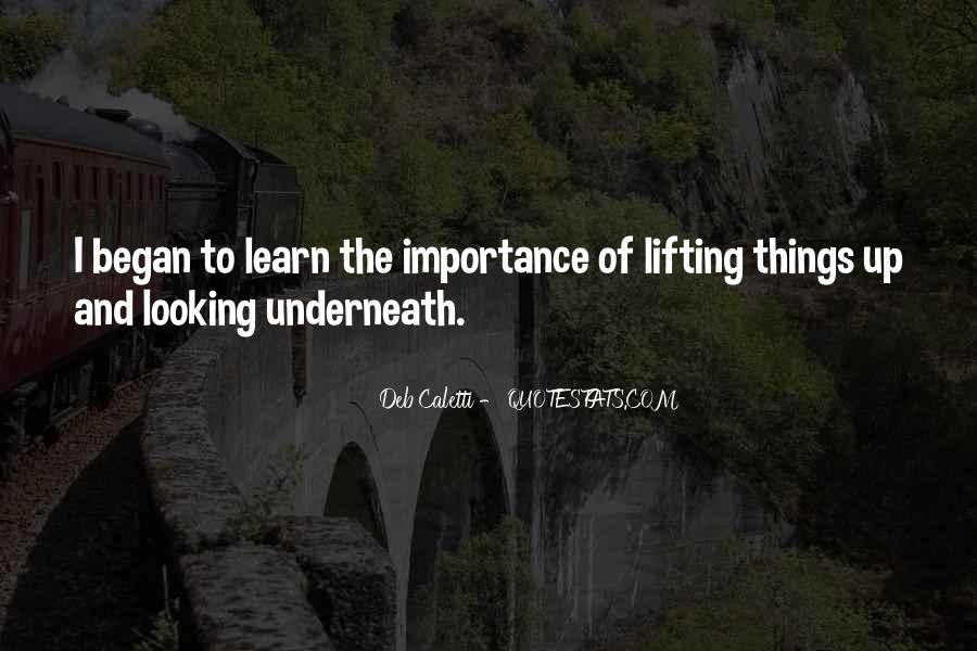Quotes About Lifting Up #1180833