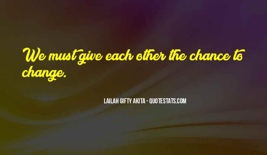Change Can Be Positive Quotes #11119