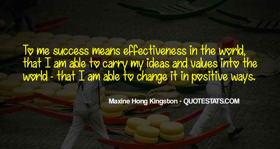 Change Can Be Positive Quotes #116053