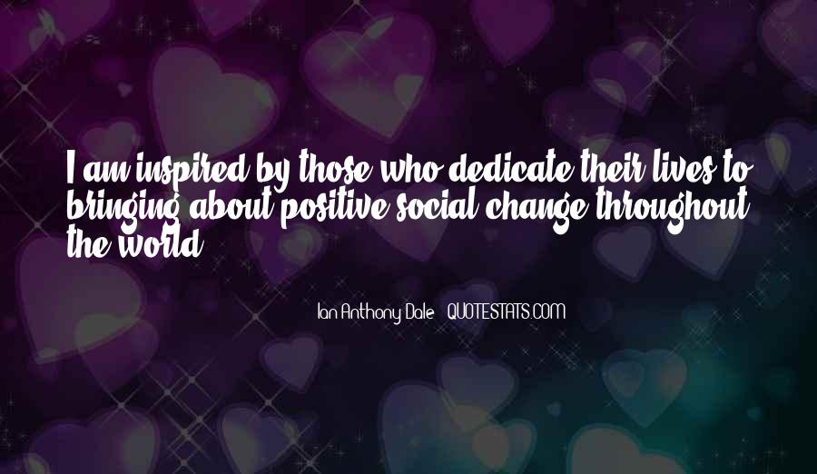 Change Can Be Positive Quotes #121898