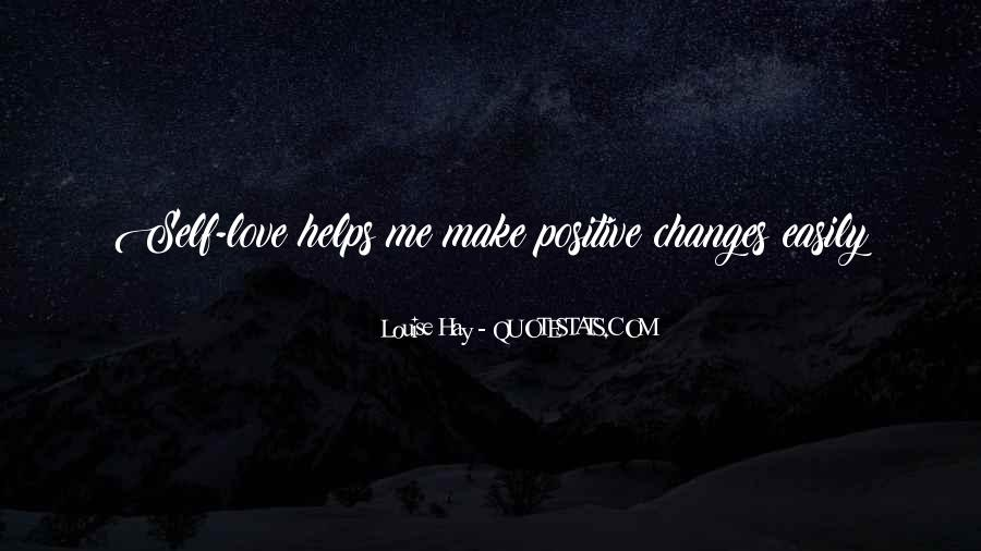 Change Can Be Positive Quotes #133910