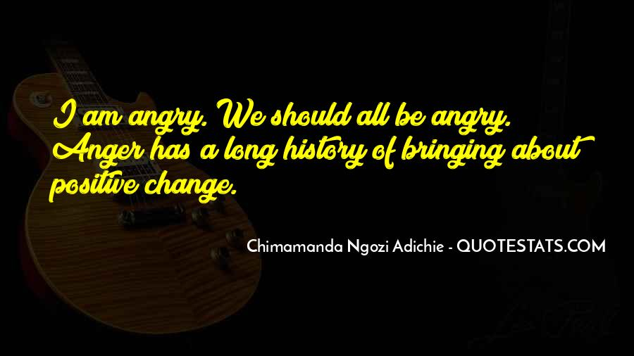 Change Can Be Positive Quotes #15673