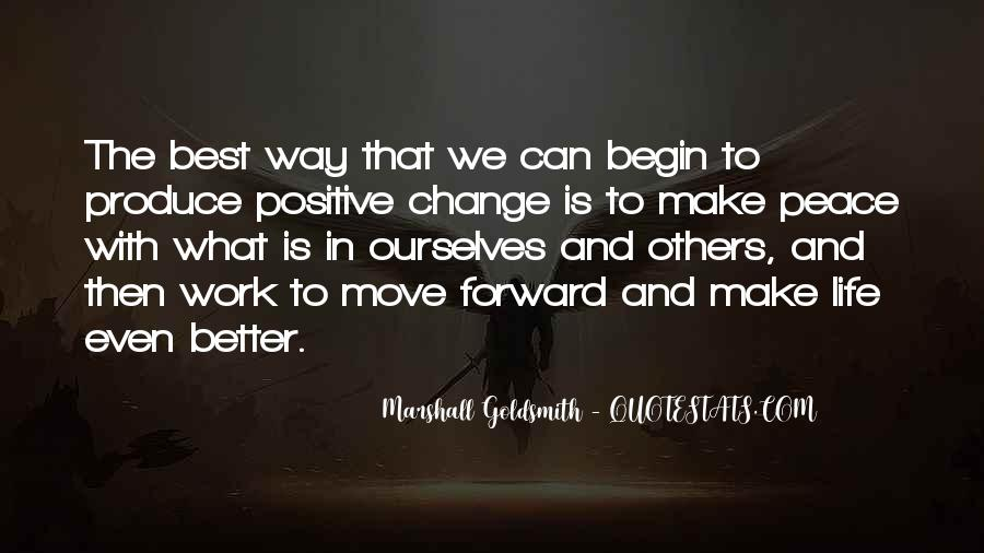 Change Can Be Positive Quotes #161230