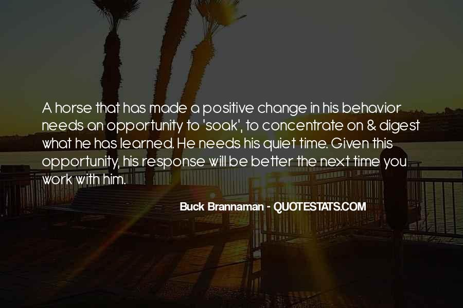 Change Can Be Positive Quotes #198342