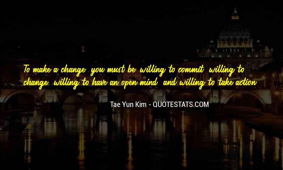 Change Can Be Positive Quotes #225011