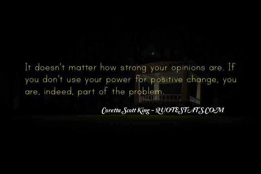 Change Can Be Positive Quotes #272143