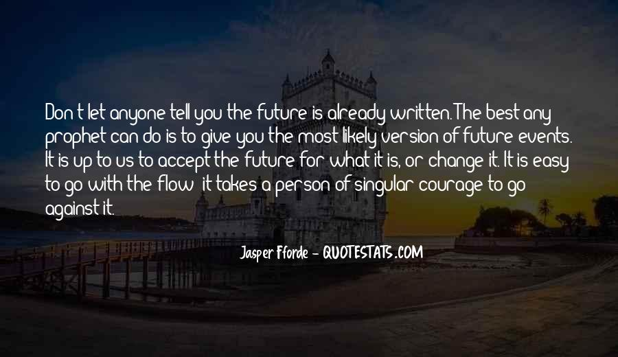 Change For Future Quotes #566202