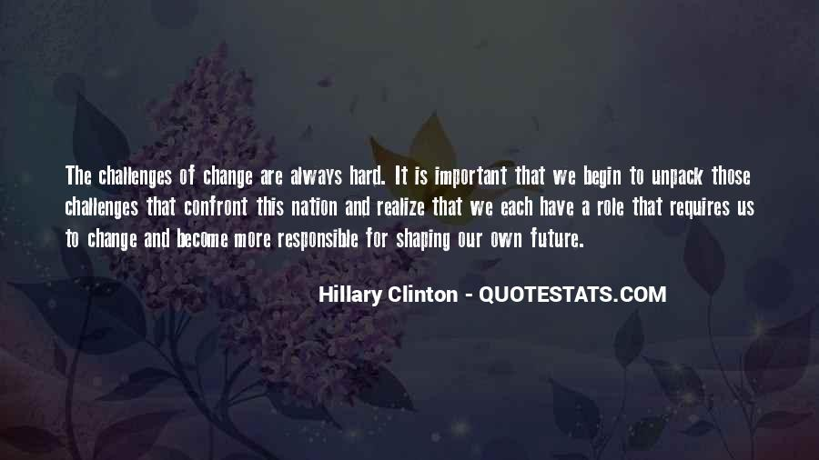 Change For Future Quotes #970708