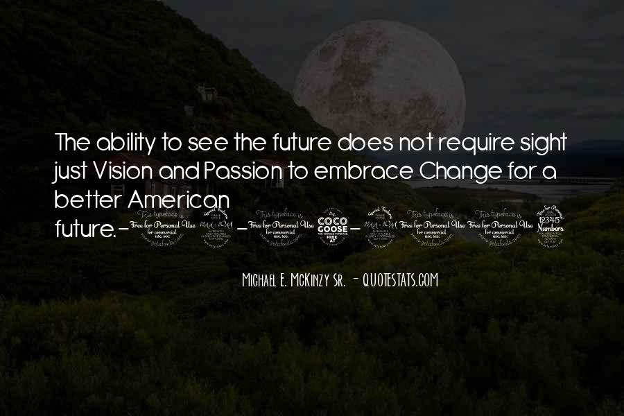 Change For Future Quotes #970776