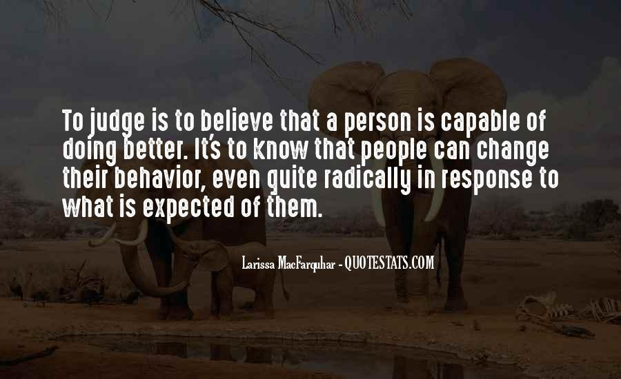 Change Into A Better Person Quotes #1448004