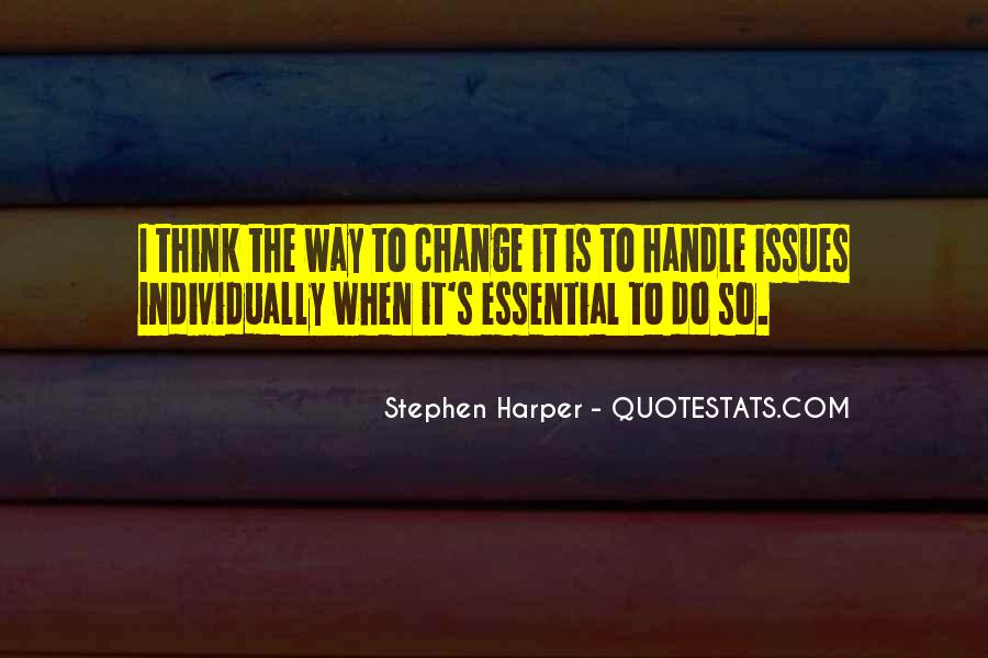 Change Is Essential Quotes #1214406