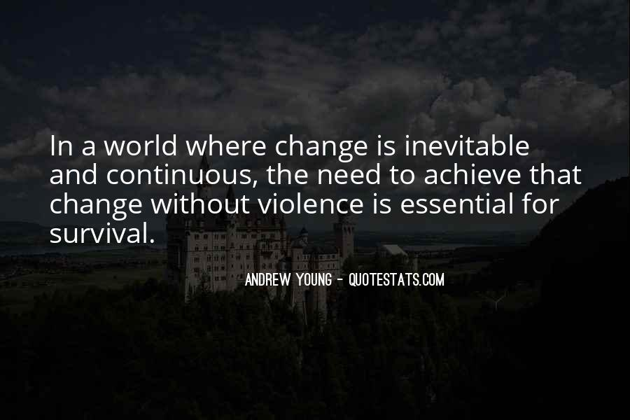 Change Is Essential Quotes #1232405