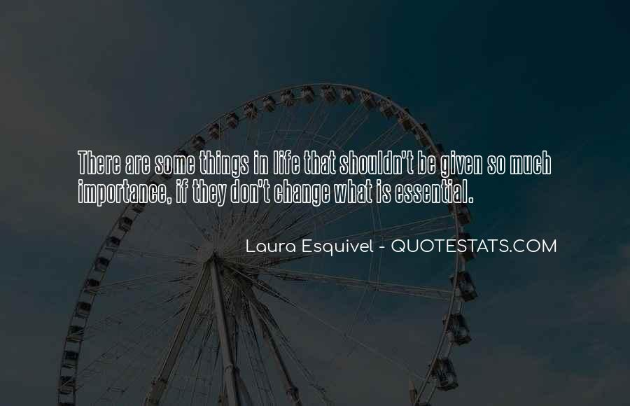Change Is Essential Quotes #235201