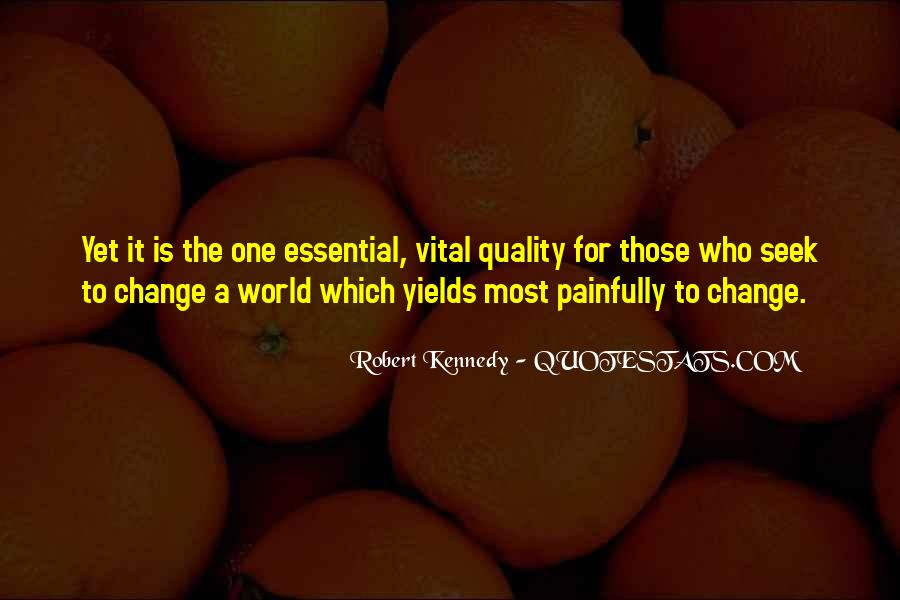Change Is Essential Quotes #877612