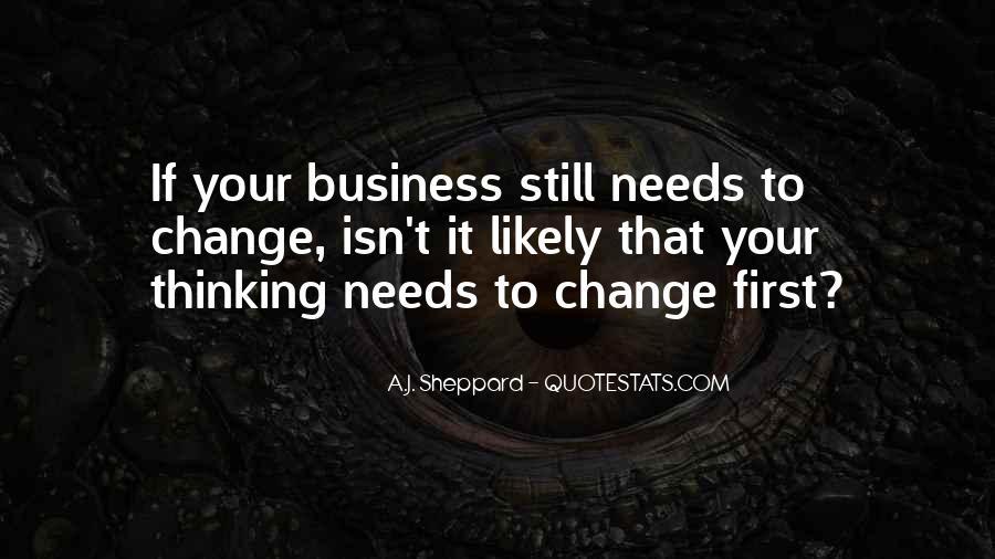 Change Management Business Quotes #1424940