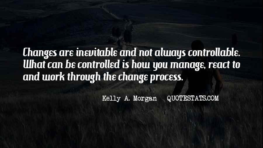 Change Management Inspirational Quotes #258537