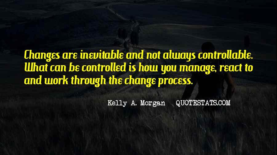 Change Management Motivational Quotes #258537