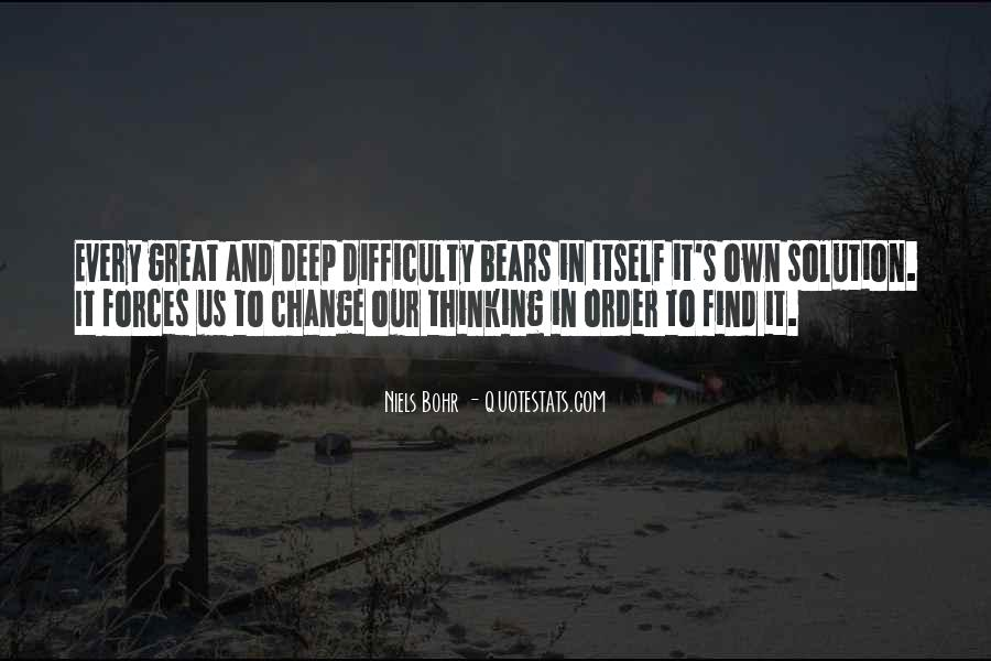 Change The Thinking Quotes #100377
