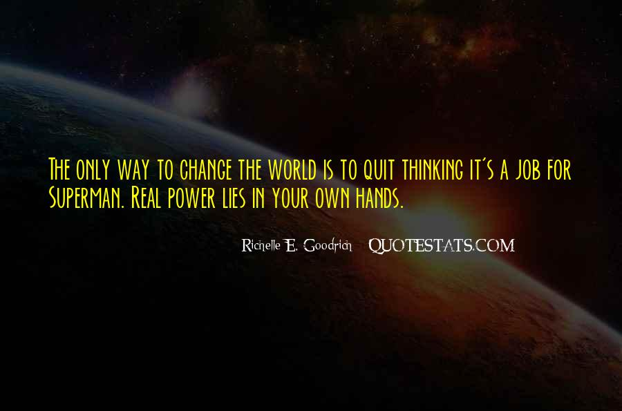 Change The Thinking Quotes #110058