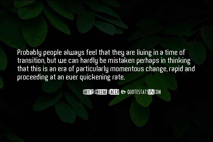Change The Thinking Quotes #11615