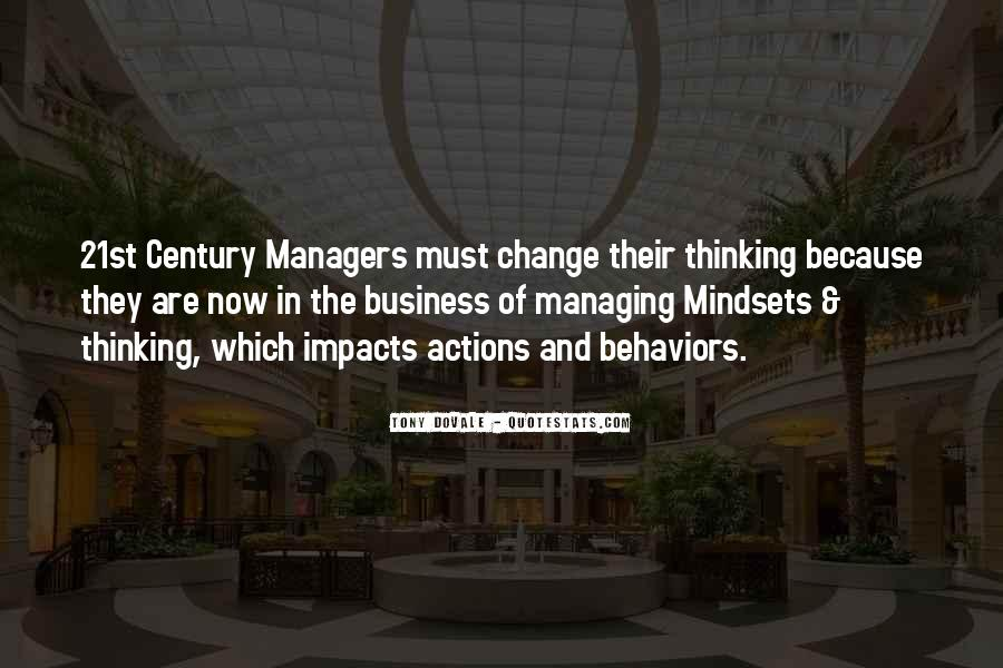 Change The Thinking Quotes #118295