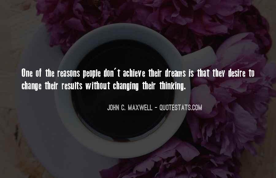 Change The Thinking Quotes #119657