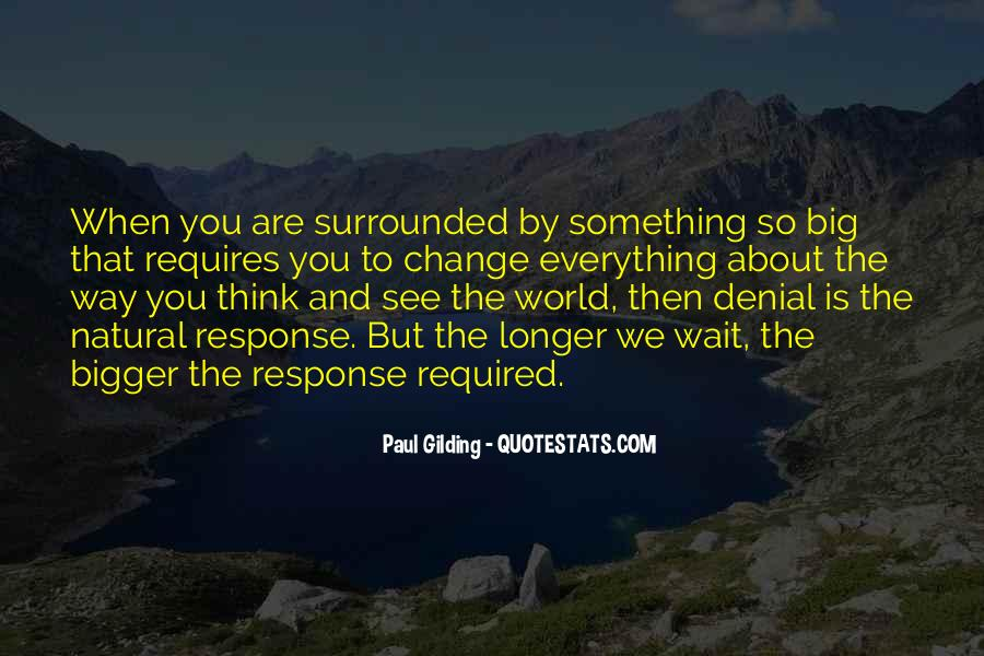 Change The Thinking Quotes #138902