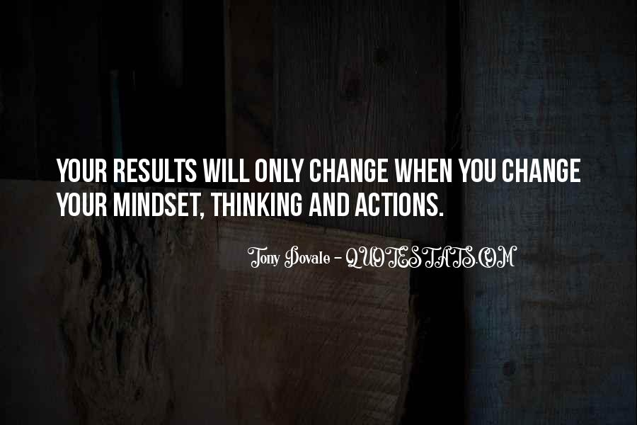 Change The Thinking Quotes #152533
