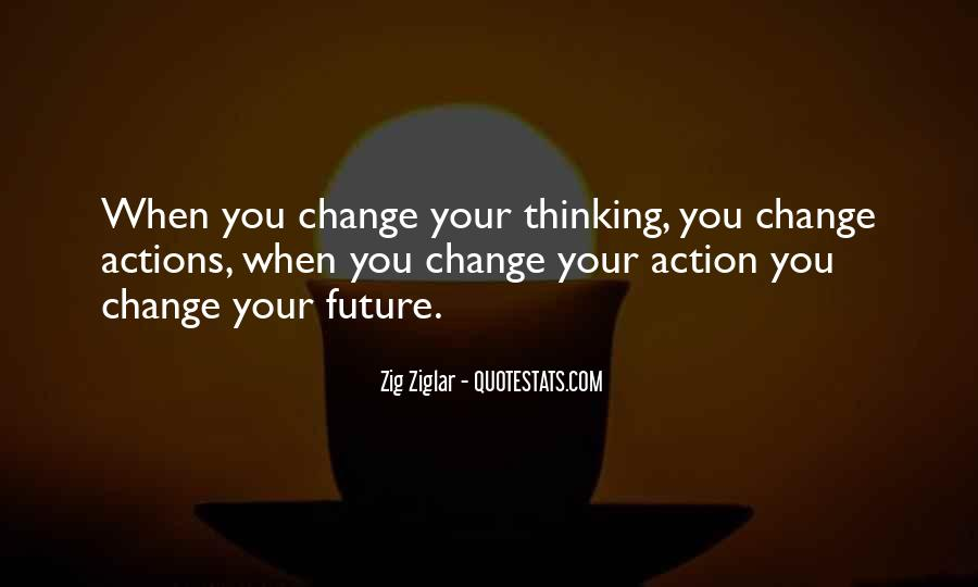 Change The Thinking Quotes #1533
