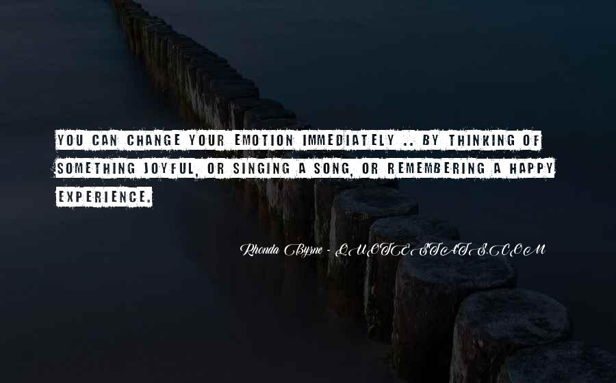 Change The Thinking Quotes #3619